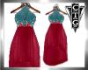 CTG FIESTA HALTER DRESS