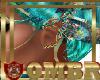 QMBR Mermaid Earrings