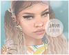 J | Melanie bleached