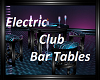 Electric Club Bar Table