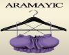 Lavender Silk Summer Top