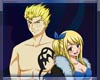 Laxus X Lucy Couch Set