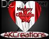 (AK)Canada day balloon