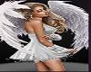Ladies Angel Cutout w Stars