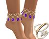 Harem Feet Gold P