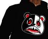 black BAWS hoodie