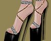 G&S Strap Platform Heels