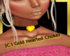 JC l Gold Hearted Choker
