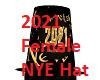 2021 Female New Year Hat