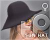 TP Sun Hat - Noir