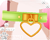 [Pets]HeartCollar|lime