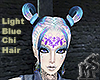 LightBlue Chi Hair Femme