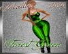 !a PantSuit Toxic Green