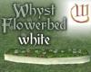 Whyst Flowerbed - white