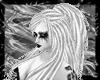 white metal hairs