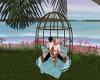 Spring Beach Kiss Swing