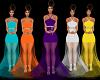 Purple Gown / Bridesmaid
