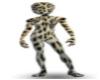 leopard zentai suit