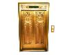GOLD ELEVATOR DOOR IMAGE