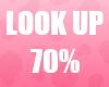 🔔 Look Up 70% Unisex