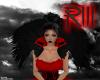 Crow Keeper Shrug Red