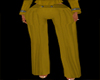 Gold Trench Pants XXl
