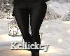 RL Black Leather Pants