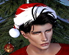 Santa Hat with Hair -M-