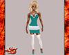 Ruffled Skirt w/Stocking