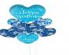 BLUE BIRTHDAY BALLOONS A
