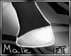 (M)Wht Horse Feet[FT]