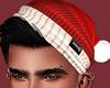 Hair Black SantaHat