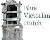 Blue Victorian Hutch