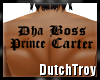 Boss Prince Carter tatto