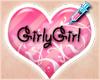 Girly Support Sticker