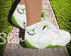 Green Jordans