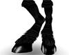 M* Black Horse Legs