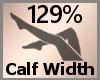 Calf Scale Thick 129% FA