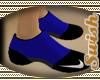 NIKE BLUE/BLK SOCKS