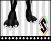!S!Black Cat Paws [Feet]