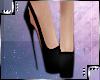 Black Rosio Heels