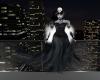 Blk Rose Skull Ghost hea
