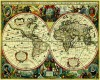 World Map Chartography