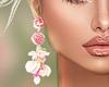 J | Luxury Rose Earrings