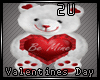 2u Be Mine V Day Bear