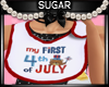 My First 4th of July Bib