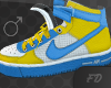 AF1 Blue & Yellow Male