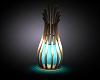 ~MG~ Teal Floor Lamp