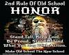 2nd Rule Old School
