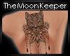 [M] Cat Mandala Tattoo